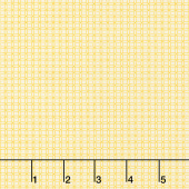 Aunt Grace Backgrounds - Mini Check Yellow Yardage