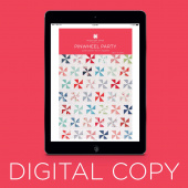 Digital Download - Pinwheel Party Pattern by MSQC