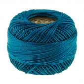 Presencia Perle Cotton Thread Size 8 Ultra Very Dark Turquoise