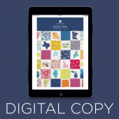 Digital Download - Road Trip Quilt Pattern by Missouri Star
