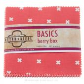Cotton + Steel Basics Berry Charm Pack
