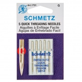 Schmetz Quick Threading (Handicap) Needles 90/14  5 pk
