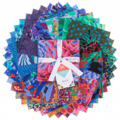 Kaffe Fassett Collective Spring 2018 - Dark Charm Pack