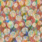 Floragraphix V - Chrysanthemum Multi Yardage