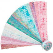"Salt Water Taffy Batiks 2.5"" Strips"
