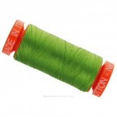 Aurifil 50 WT 100% Cotton Mako Spool Thread - Grass Green