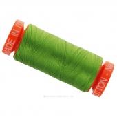 Aurifil 50 WT 100% Cotton Mako Spool Thread - Grass Green