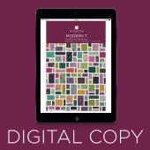 Digital Download - Modern T Quilt Pattern by Missouri Star
