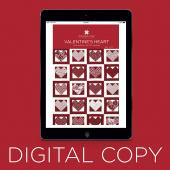 Digital Download - Valentine's Heart Quilt Pattern by Missouri Star