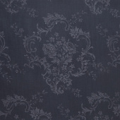 "Majestic - Damask Navy 108"" Wide Backing"