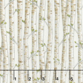 Explore - Birch Trees Birch White Yardage
