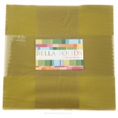Bella Solids Fig Tree Olive Junior Layer Cake by Moda