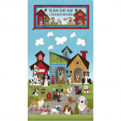 Home is Where the Dog Is! - Banner Blue Panel