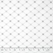 Cozy Cotton Flannels - Diamond White Yardage