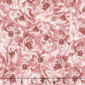 Burgundy & Blush - Full Bloom Pink Yardage