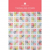 Twinkling Stars Quilt Pattern by Missouri Star