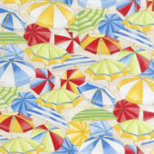 Novelty - Umbrellas Multi Yardage