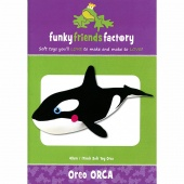 Oreo The Orca Funky Friends Factory Pattern