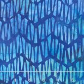 Artisan Batiks - Natural Formations 3 Ocean Mosaic Ocean Yardage