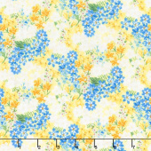 Madison - Small Floral Yellow Yardage