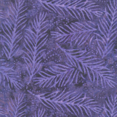 "Wilmington Essentials - Delicate Fronds Purple 108"" Wide Backing"