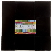 Bella Solids Black Layer Cake