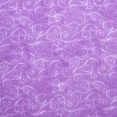Wilmington Essentials - Amethyst Royale Swirly Scroll Lavender Yardage