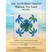 Turtle Beach Precut Fusible Appliqué Shape