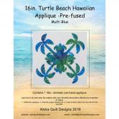 Turtle Beach Precut Fusible Appliqué Shape