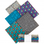 Printology Gray Fat Quarter Bundle
