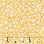 Aunt Grace's Flower Pots - Fresh Flowers Yellow Yardage