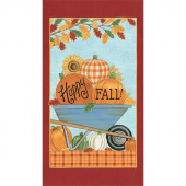 Happy Fall - Autumn Farmhouse Aqua Panel