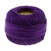 Presencia Perle Cotton Thread Size 8 Very Dark Lavender