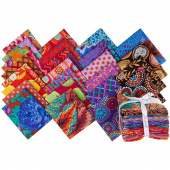 Kaffe Fassett Collective February 2020 Warm Fat Quarter Bundle
