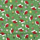 Santa's Little Helpers - Hats & Gifts Green Yardage