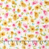 Garden Splendor - Small Florals Pink Yardage