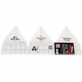 Creative Grids 60 Degree Double - Strip Ruler