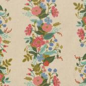 English Garden - Garden Vines Cream Linen Canvas Yardage