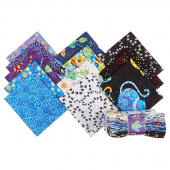 Catmosphere Fat Quarter Crystals