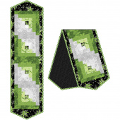 Greenery Log Cabin Table Runner Pod Kit