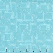 Bee Basics - Tv Turquoise Yardage