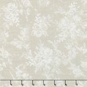 Farmhouse Rose - Toile Ivory Yardage