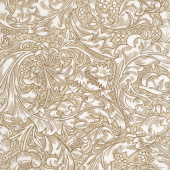 Kelmscott - Bachelors Button Tan Yardage