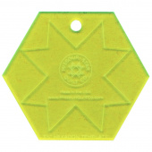 "Missouri Star Special Edition 3.5"" Hexagon Template"