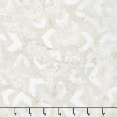 Tonga Batiks - United Linen White Yardage