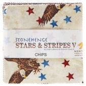 Stonehenge Stars and Stripes V Charm Pack