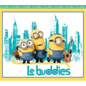 Minions - Le Buddies Turquoise/Yellow Panel