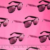 Dapper Prints - Mecury Rising Fla-Pink-O Yardage