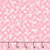Aunt Grace's Apron - Lazy Daisy Pink Yardage