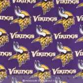 NFL - Minnesota Vikings Cotton Yardage
